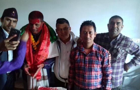 कार्यकारी अधिकृत श्री रविन्द्र प्रसाद वस्ती ज्यूको बिदाई समारोहको झलक